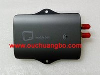 Wholesale Car Tv Receiver Mpeg4 - Ouchuangbo car DVB-T Tuner MPEG4 Special DVB-T Mpeg4 Digital TV Receiver Box for S100 S150 S160 Series used in Europe