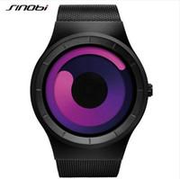 Wholesale Sinobi Watches Men - SINOBI Watch Men Watch Fashion Luminous Watches Unique Full Steel Sport Wrist watches Hour Clock relogio masculino reloj hombre