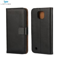 Wholesale Optimus G Cover - For LG X Screen CAM Spirit H440 G Optimus L7 II Flip Leather Case Wallet Credit Card Holder Stand Magnetic Cover Shockproof