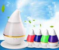 Wholesale Warm Mist Humidifier Aroma Diffuser - 200ml 2W USB Ultrasonic Aroma Humidifier Air Essential Oil Diffuser humdifier with LED Light Purifier Atomizer for Home office SPA