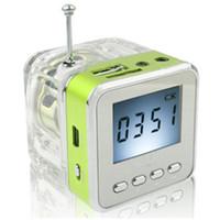 usb para rádio venda por atacado-TT-028 portátil mini alto-falante de multimídia mp3 usb disco de rádio fm micro sd / tf presente