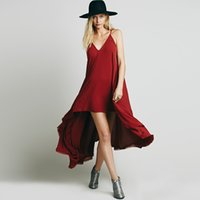 Wholesale Irregular Hem Skirt - Plus Size Women Clothing Summer New Europe and The United States Is Irregular Backless Comfortable Recreational Skirt Hem Condole
