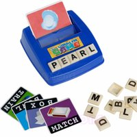 Wholesale English Learning Toy - Baby Literacy Fun Game Learn English Word Puzzle Children's Educational Toys
