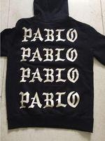 Wholesale Life Jackets Pockets - the 2017 new selling the life of pablo kanye hoodie men hip hop pull paris opening season 3 jackets i feel like pablo