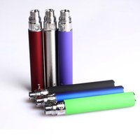 Wholesale fedex t - Ego T Battery Ego Batteries 510 battery Atomizer Full Capacity Clearomizer Vaporizer MT3 H2 CE4 CE5 CE6 650 900 1100mAh FEDEX DHL FREE