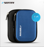Wholesale Carrying Case External Hard Drive - Wholesale- New Hand Carry 2.5 Inch HDD Bag Protection Disque Dur Case For External Hard Drive Bag Black And Blue