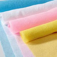 Wholesale flower wash towel for sale - Hot Massage towel beauty skin cloth exfoliating wash cloth body wash towel Chamfer towel Colos IB331