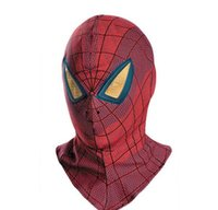 Wholesale Spiderman Hood - The latest creative adult child general Cos Halloween spider-man hood Spiderman mask Spiderman mask spiderman mask