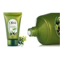 Wholesale Skin Whitening Cream Korea - Wholesale-60g Skin Care New Brand Korea Whitening Mini Hand Cream Lift Firming Moisturizing Exfoliate Hand Moisture Replenishment By Olive