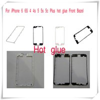Wholesale iphone 5c replacement housing for sale – best 100pcs DHL Free For iPhone S C S Plus Housing Front Bezel Frame Holder With hot glue adhesive Replacement