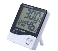 Wholesale Thermometer Hygrometer Precision - Digital temperature and humidity meter HTC - 1 thermometer hygrometer indoor temperature hygrometer high-precision liquid crystal temperatur