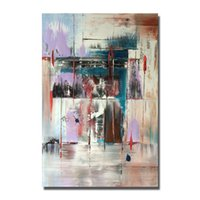 Wholesale abstract canvas art for sale - Free Shipping New Style Abstract Painting for Home Decor Wall Pictures Modern Canvas Art Hot Sale Oil Painting High Quality No Framed