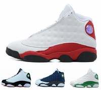 Wholesale Mens Cheap Footwear - Cheap Mens women Basketball Shoes hot air retro 13 Sports Sneakers 13 Athletics Footwear 13 Running Training Wholesale Trainers boots