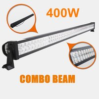 """Wholesale Car Led Light Bar 54 - 50"""" inch 400W Waterproof IP67 LED Light Bar Car Led Working Light COMBO BEAM Driving light for Offroad SUV Boat Truck Tractor 50 52 54 inch"""