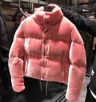 Jacke parka rosa