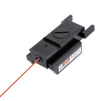 red dot laser sight taktisch großhandel-Leistungsstarke taktische Red Dot Laser Sight mit Mount Compact für Gun mit Schraubenschlüssel passt 20mm Standardschiene Jagd Teleskop