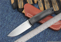 sabit bıçak avı bıçağı bowie toptan satış-Toplama Tilki D2 Sabit Bıçak Bıçak G10 Kolu Bowie Taktik Kamp Avcılık Survival Düz Bıçak Askeri Yardımcı EDC Hediye Bıçak