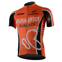 Wholesale Euskaltel Team - Felt new mens euskaltel Team pro Cycling Jerseys Short Sleeve ropa ciclismo Quick-Dry Breathable Comfortable Bike Short Sleeve Top A233