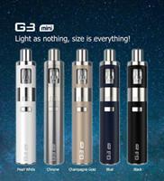 Wholesale G3 Batteries - Wholesale-Original LSS G3 mini kit 900mah 1 ohm GS battery electronic cigarette vapor pen portable similar to EGO One 0.5ohm 1ohm Kit