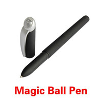 Wholesale Magic Joke Ball Pen Invisible Slowly Disappear Ink within One hour Magic Gift TY2079