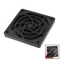 Wholesale Square Filter Case - Wholesale- PROMOTION! Plastic Square Dustproof Filter 80mm PC Case Fan Dust Guard Mesh