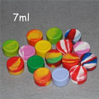 Wholesale 3mL mL mL ml Non stick Silicone Jar Dab Wax Containers For Wax Silicone Jars Concentrate Case