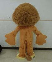 Wholesale Make Madagascar Alex Costume - Madagascar Lion Alex Mascot Costume Animal Mascot adult Costume Free Shipping
