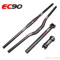 Wholesale Handlebar Seatpost - 2017 EC90 Ultra-light carbon fiber mountain MTB bike the whole set   bicycle handlebar  bicycle seatpost   stem