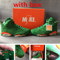 Wholesale Basketball Mike - Retro 6 NRG Gatorade like mike mens basketball shoes with box and hangtag size eur 41-47 free shipping wholesale top quality