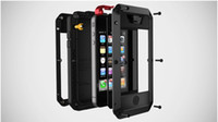 Wholesale Multi Case Iphone 4s - For Apple 4   4S mobile phone three anti-metal protective shell all-inclusive multi-color optional