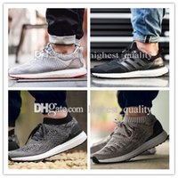 Wholesale New Style Shoes For Mens - 2017 Cheap New Style Uncaged Ultra Boost Hypebeast Sport Shoes Sneakers Mens Women Consortium SOLEBOX Limited Running Shoes for men US 5-11