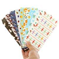 Wholesale Envelope Window - Wholesale- 150 pcs  set Cartoon ordinary paper gift window envelopes Cartoon animals sobres kraft envelopes papel Size 175*87mm