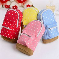 Wholesale Backpack Old School - Mini wave point backpack pencil case school stationery gifts Office school supplies school supplies stationeryfree delivery