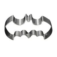 Wholesale Halloween Bat Shape Cake Cookie Cutter Mold Tools Biscuit DIY Mould