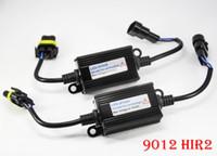 1 Pair(2PCS) 9012 HIR2 Auto LED Headlight Conversion Kit Car Canbus Decoder Lo No Error Free Warning Canceler Anti-Hyper Flashing Blinking