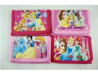 Wholesale Snow White Wallets - Wholesale!Free Shipping!48pcs NEW Classic Snow White Princess Childrens Kids Girls Various Stocking Filler Wallet Purse Coin Bag