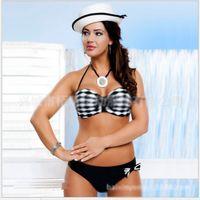 Wholesale Sexy Swimwear Big Women - Plus Size M-XXL New Women Sexy Bikini Sets Swimwear Sequins Swimsuit Secrate Beachwear sets Big size