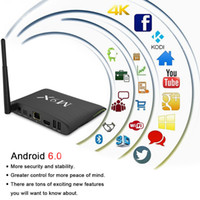 Wholesale Smart M2 - S905X Android 6.0 Smart TV Box M9X M2 Quad Core 2.4GHz 5GHZ WiFi Bluetooth 2GB 16GB Set Top Box VS X92 A95X