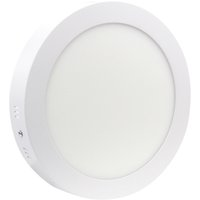 Wholesale Led Round Panel For Ceiling - Wholesale- High Bright Surface Mounted Led Panel Light 6w 12w 18w Round Square LED Ceiling Lamp No Cut LED Downlight AC85-265V for Bathroom