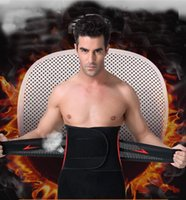 Wholesale Belly Belt For Men - Man lose weight belt abdomen beer belly girdle men's inner muscle belt for slimming waist tummy shaper Corset can adjust the size