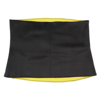 Wholesale Yoga Waist Support - Wholesale- TV Hot Selling Fitness & body building YoGa shapers neoprene slimming shaping self-heating Girls slimming pants body shaper