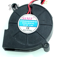 Wholesale 12v blower fan computer for sale - SANLY SF5015SL DC V A Server Cooling Fan Server Centrifugal Blower Fan wire x50x15mm