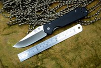 Wholesale Cr Tools - SANRENMU CR folding knife satin blade Teflon washer G10 handle outdoor camping hunting pocket knife EDC tools drop shipping