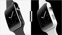 armband handy uhren großhandel-Gebogenes Smartwatch Smartwatch Armband-Telefon des Schirm-X6 mit SIM TF Einbauschlitz mit Kamera für Samsung LG Sony aller androider Handy DHL