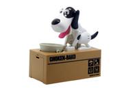 hundespeicherung großhandel-1 Stück Roboter Hund Banco Canino Spardose Geld Bank Automatische Stola Münze Sparschwein Geld Sparen Box Spardose Weihnachtsgeschenke für kid