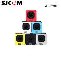 Wholesale connector camera - Original SJCAM M10WIFI Full HD Mini Sport Camera 2K Video Resolution Waterproof Camera 1080P Sport DV Connector