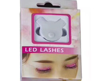 Wholesale F Lashes Interactive LED Eyelashes Fashion Glowing Eyelashes Waterproof for Dance Concert Christmas Halloween Nightclub Party