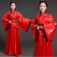 Wholesale Red Hanfu - Tang costume female fairy maiden tang dynasty han dynasty hanfu classic dance princess concubine