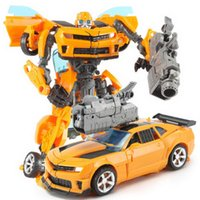 Wholesale Human Alliance - Diecast Model Cars ROTF Human Alliance Bumblebee Figure and Sam 20cm Model Toy Child gift
