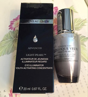 Wholesale Eye Concentrate - Ice eye essence 20g Muscle base liquid eye essence Dilute the eye wrinkles to dark circles Advanced Génifique Youth Activating Concentrate
